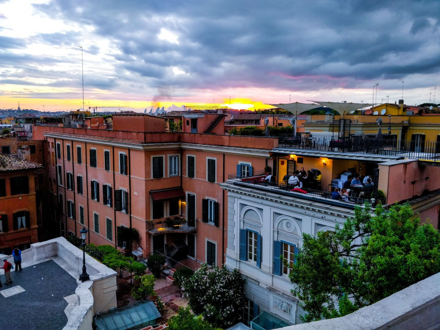 World's best rooftop bars: Hotel Raphael, Rome