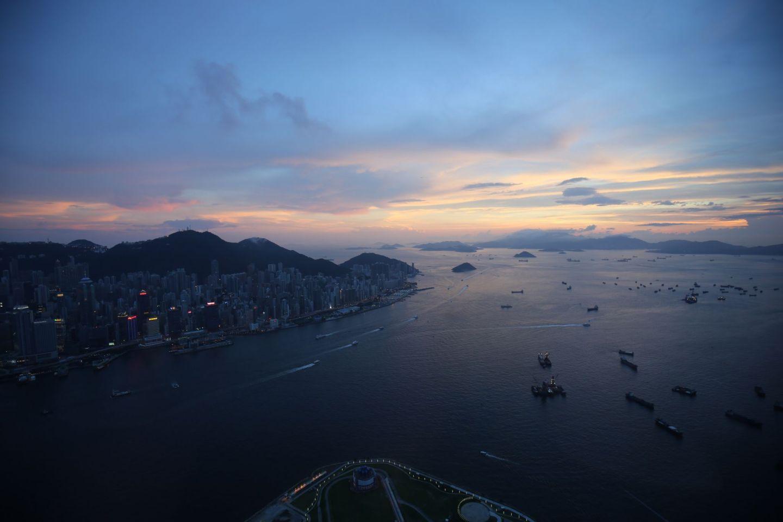 World's best rooftop bars: Ozone, Ritz Carlton, Hong Kong