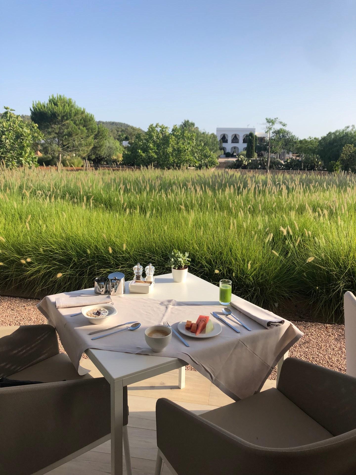 Breakfast at Salvia, Ibiza