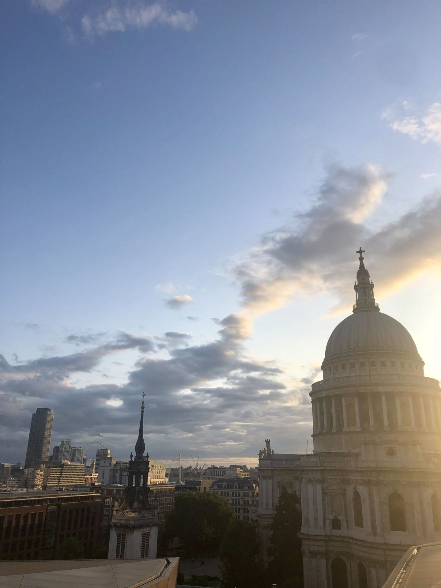 Moving to London: St Paul's Cathedral