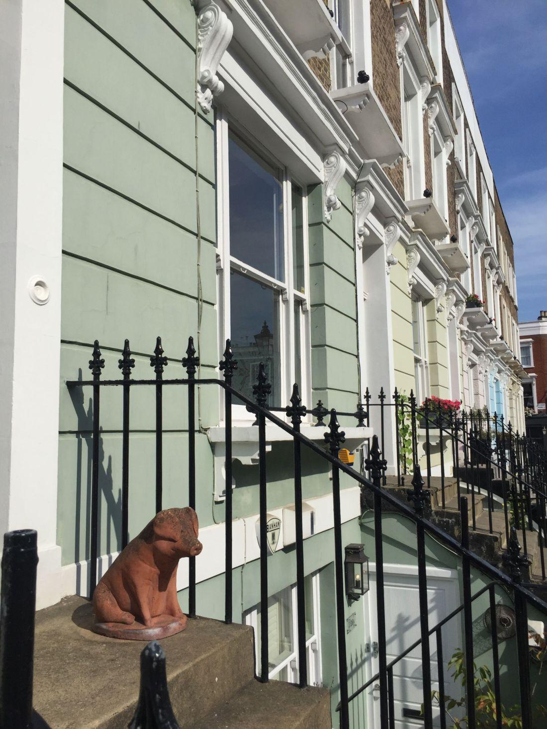 Streets of Primrose Hill, London