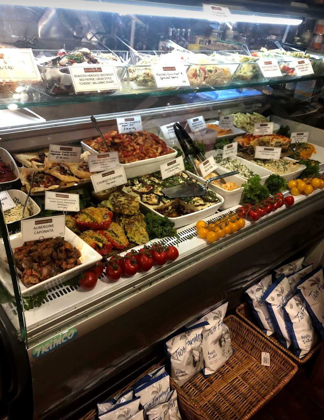 Inside the Cotswolds Deli