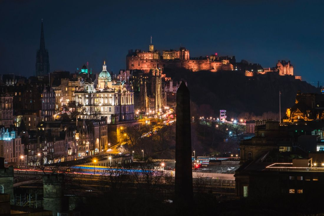Best cities to celebrate New Year's Eve: Edinburgh, Scotland