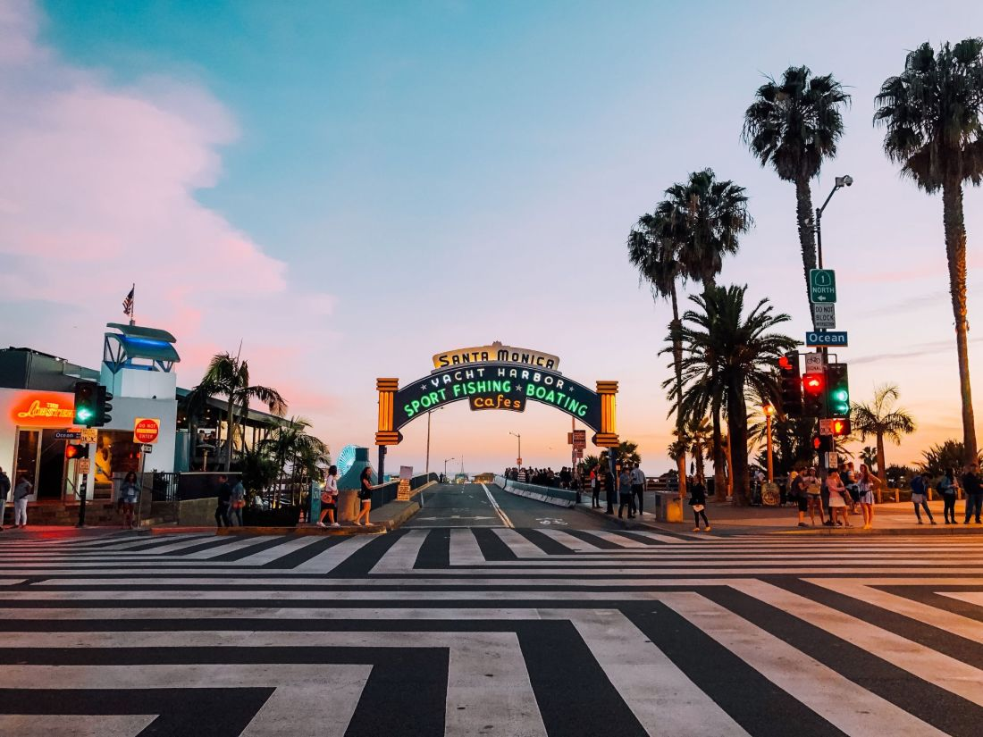 Where to stay in Los Angeles: Venice and Santa Monica