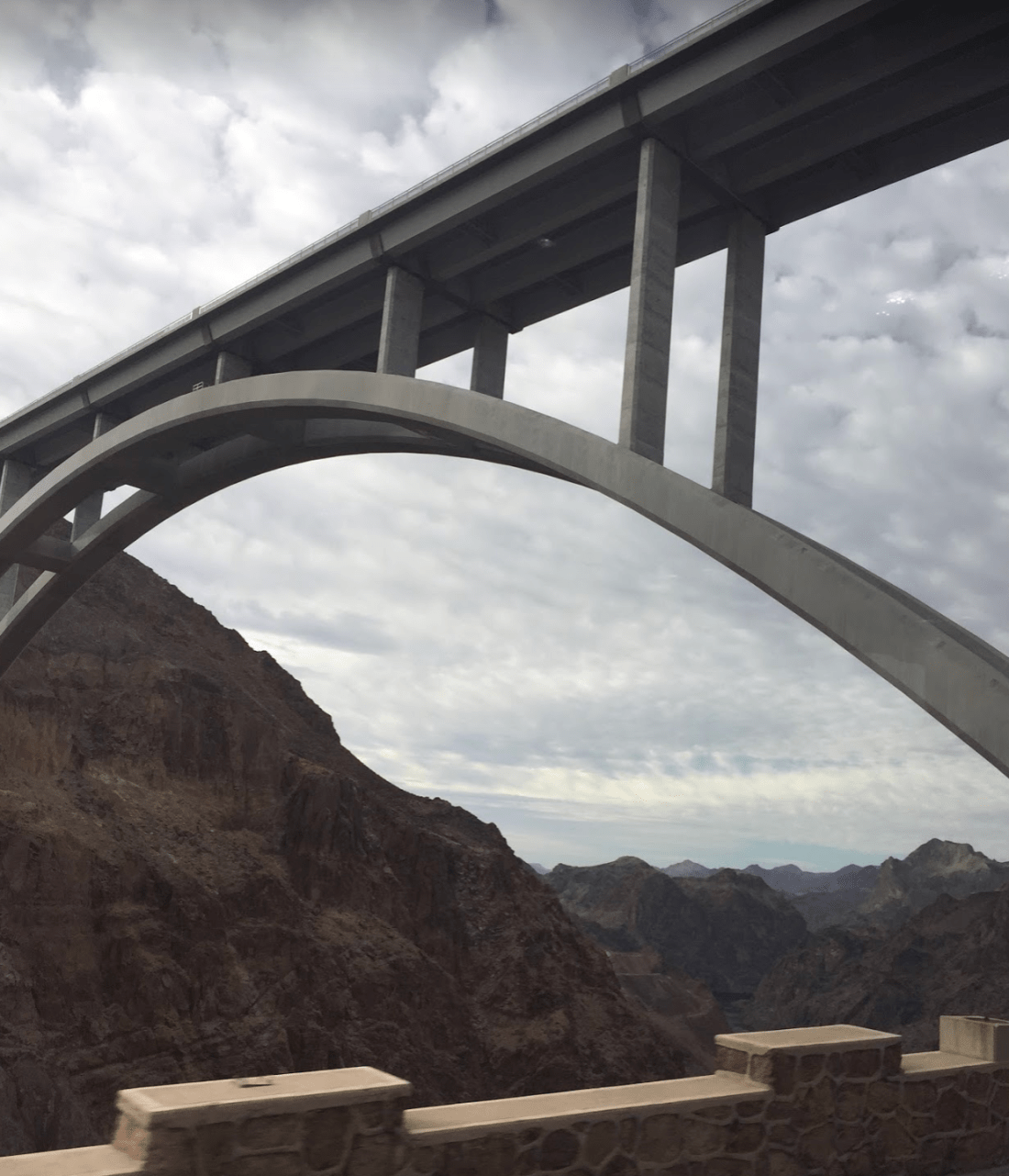 Mike O'Callaghan–Pat Tillman Memorial Bridge, Hoover Dam Bypass