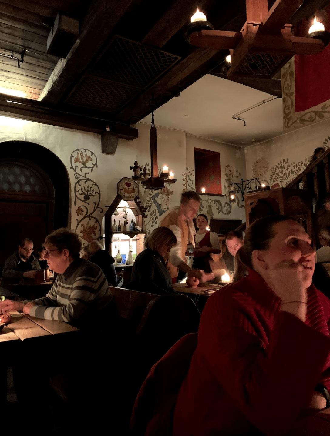 Inside Olde Hansa, Tallinn