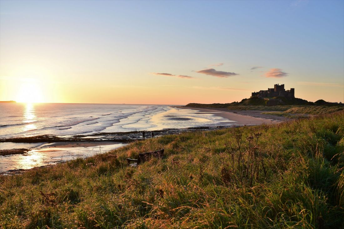 Best seaside towns in the UK: Bamburgh, Northumberland