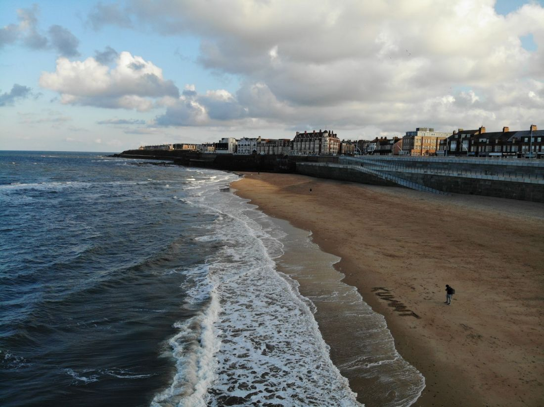 Best beaches in the UK: Whitley Bay, Tynemouth