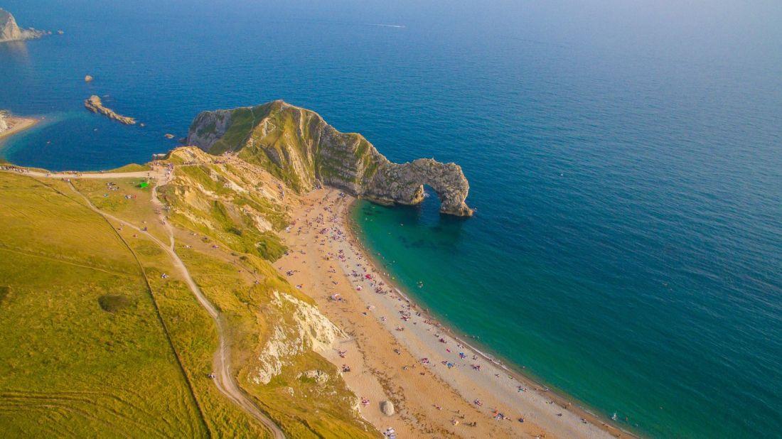 Best beaches in the UK: Durdle Door, Dorset