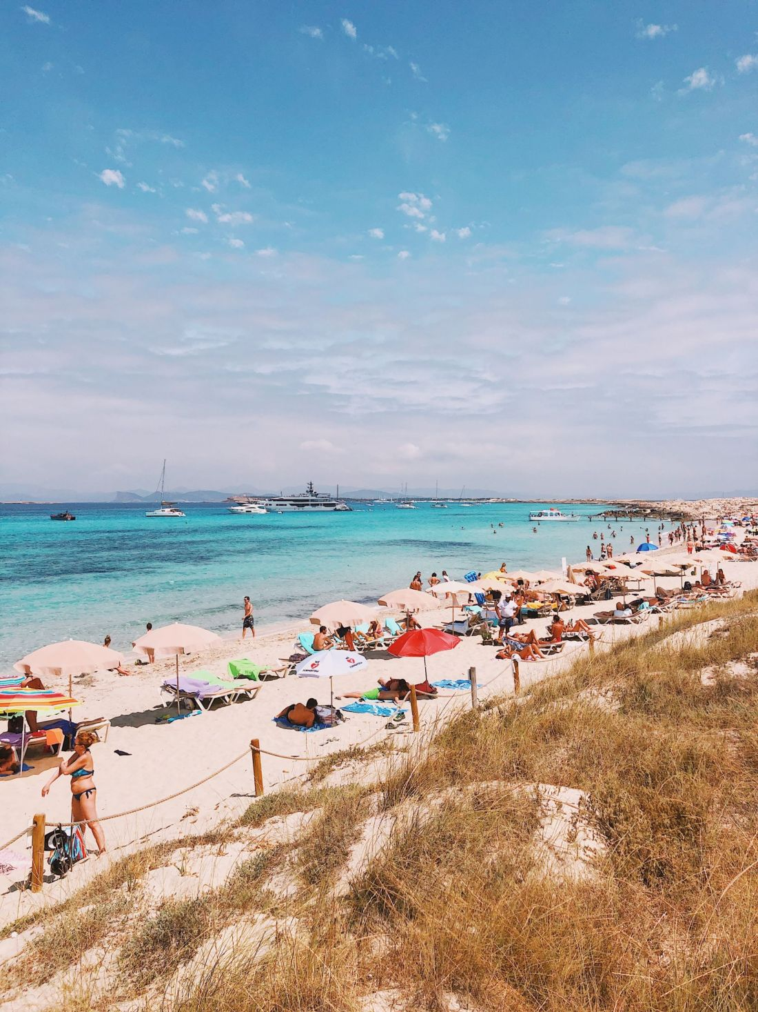 Beaches of Formentera: Playa Migjorn, Ibiza