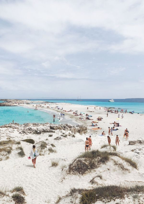 Beaches of Formentera: Playa de Ses Iletes