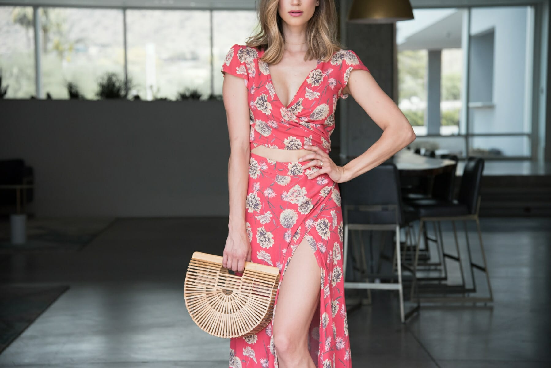 resort-style-floral-two-piece