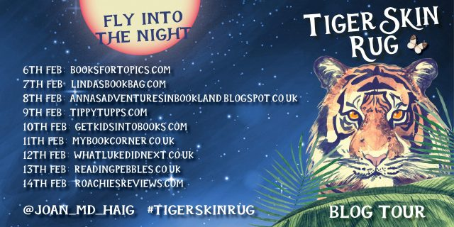 Tiger Skin Rug Blog Tour Image