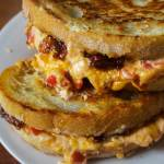 Pimento Grilled Cheese with Bourbon Bacon Jam