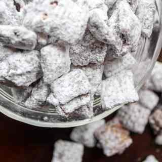 Puppy Chow with Cookie Butter