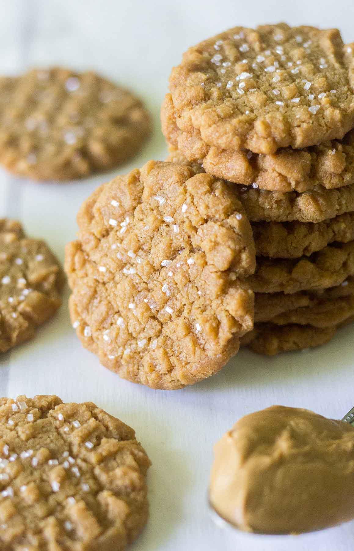peanut butter cookies flourless