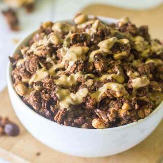 Chocolate Peanut Butter Protein Granola