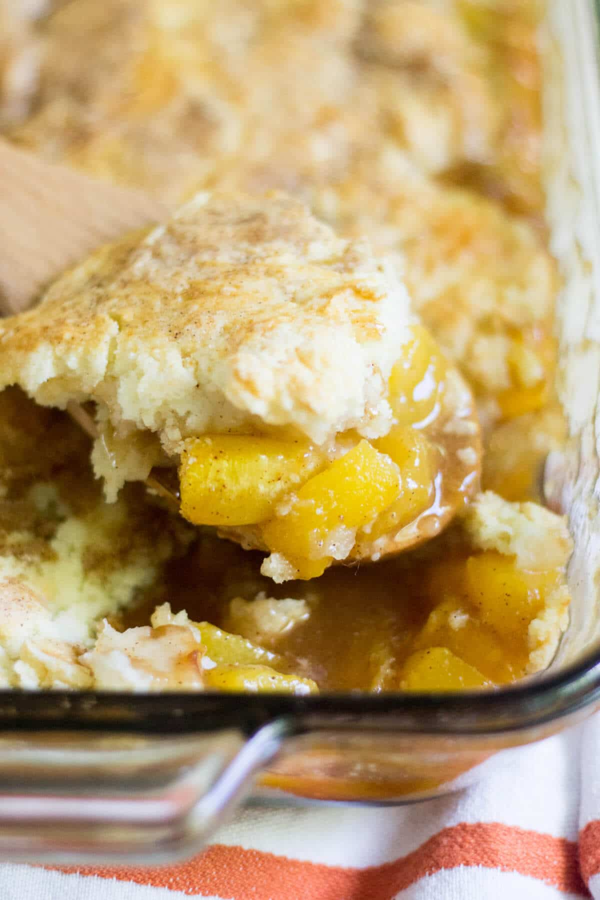 gluten free peach cobbler recipe