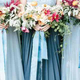 Dusty Blue Styled Wedding Shoot