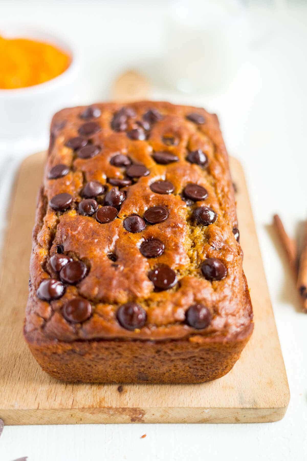 pumpkin banana bread healthy