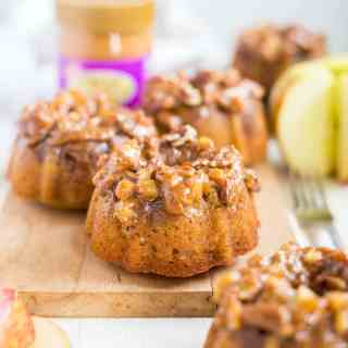 Caramel Apple Paleo Cake