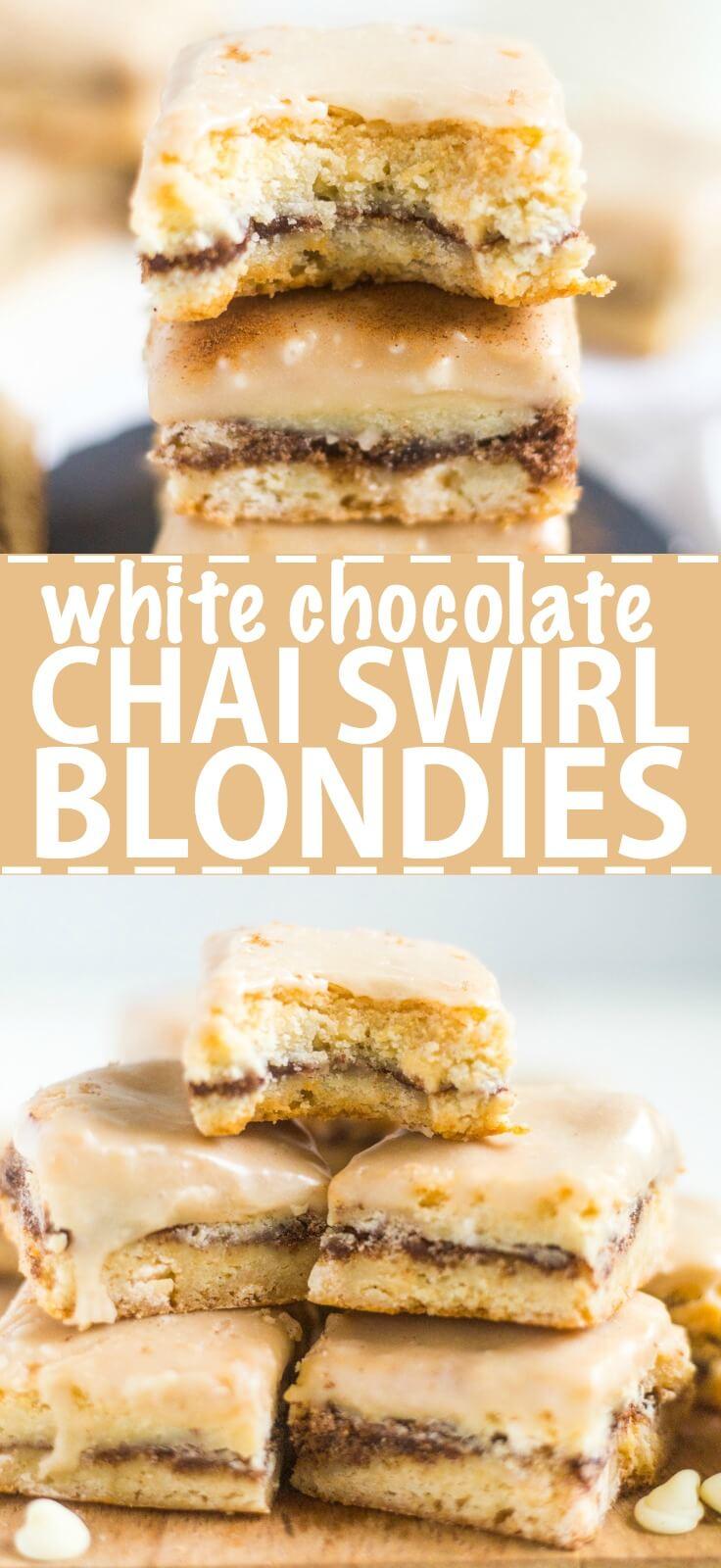 blondie recipe white chocolate