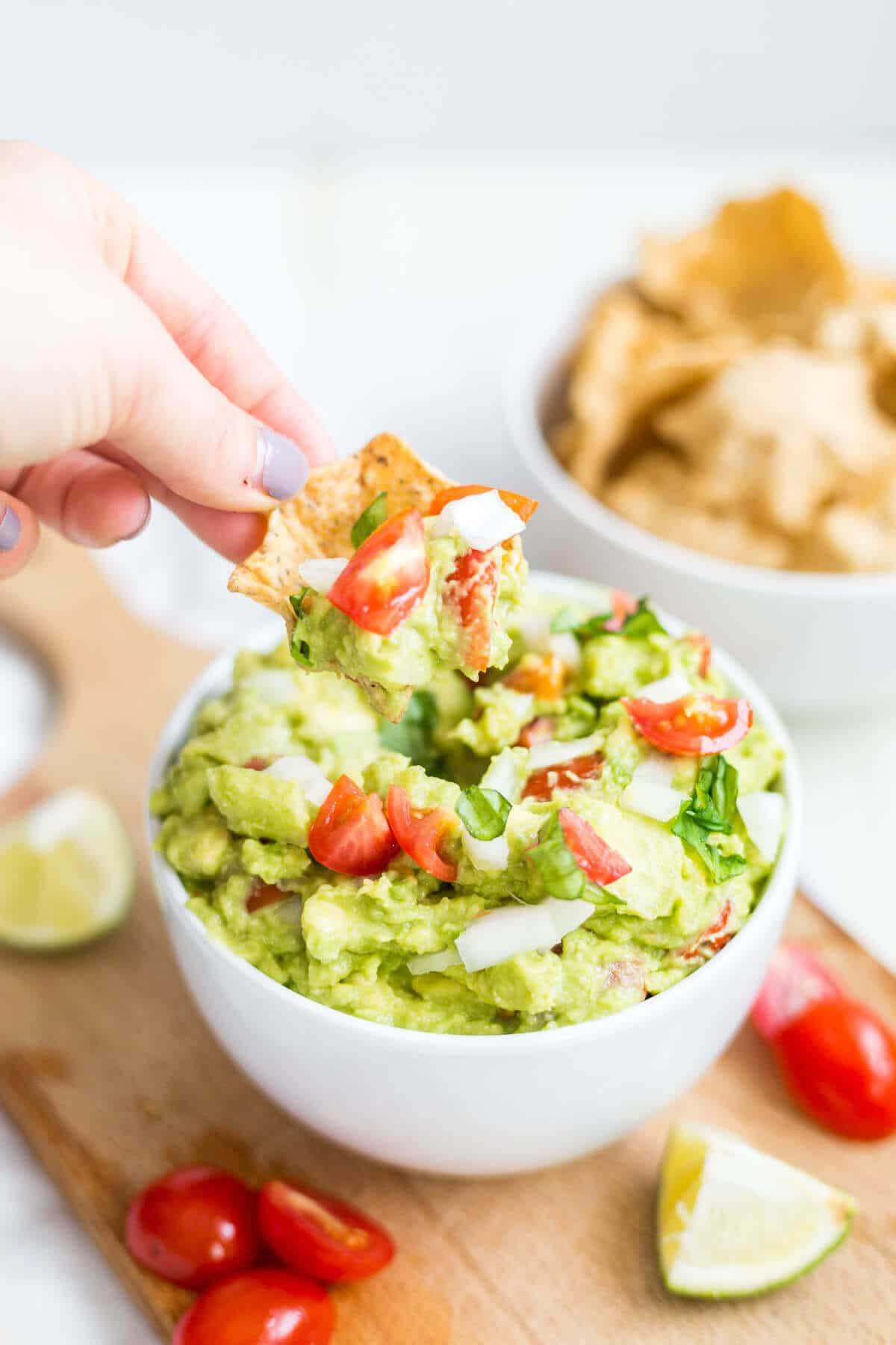 guacamole recipe healthy