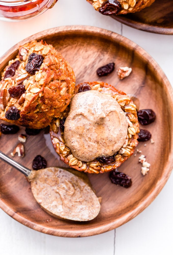 healthy oatmeal muffin recipes