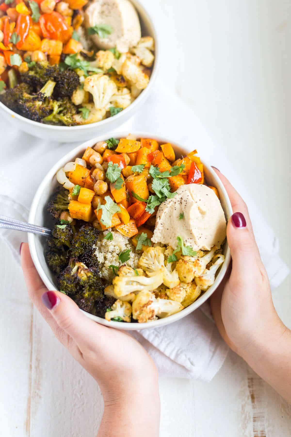 Veggie Quinoa Power Bowl