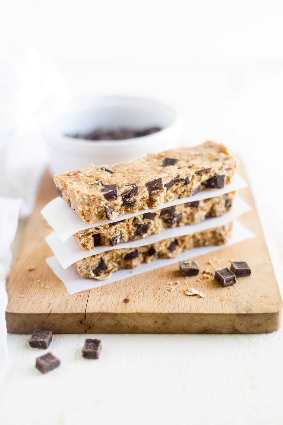 homemade peanut butter protein bars