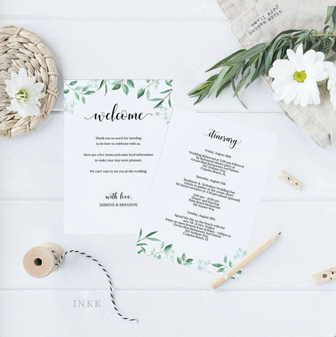 Wedding Invitation Tips And 10 Greenery Wedding Invitation Ideas