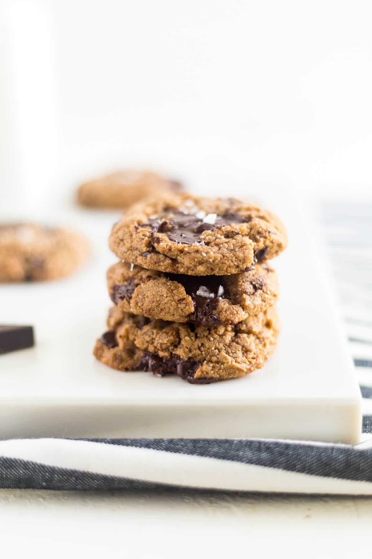 chocolate chip cookies with coconut flour