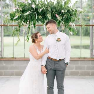 Our Oak Grove Wedding: First Look