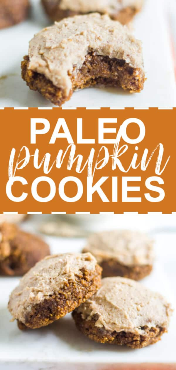 healthy pumpkin cookies paleo