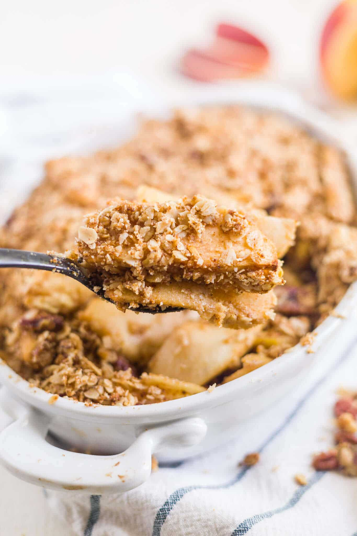 apple crisp recipe healthy