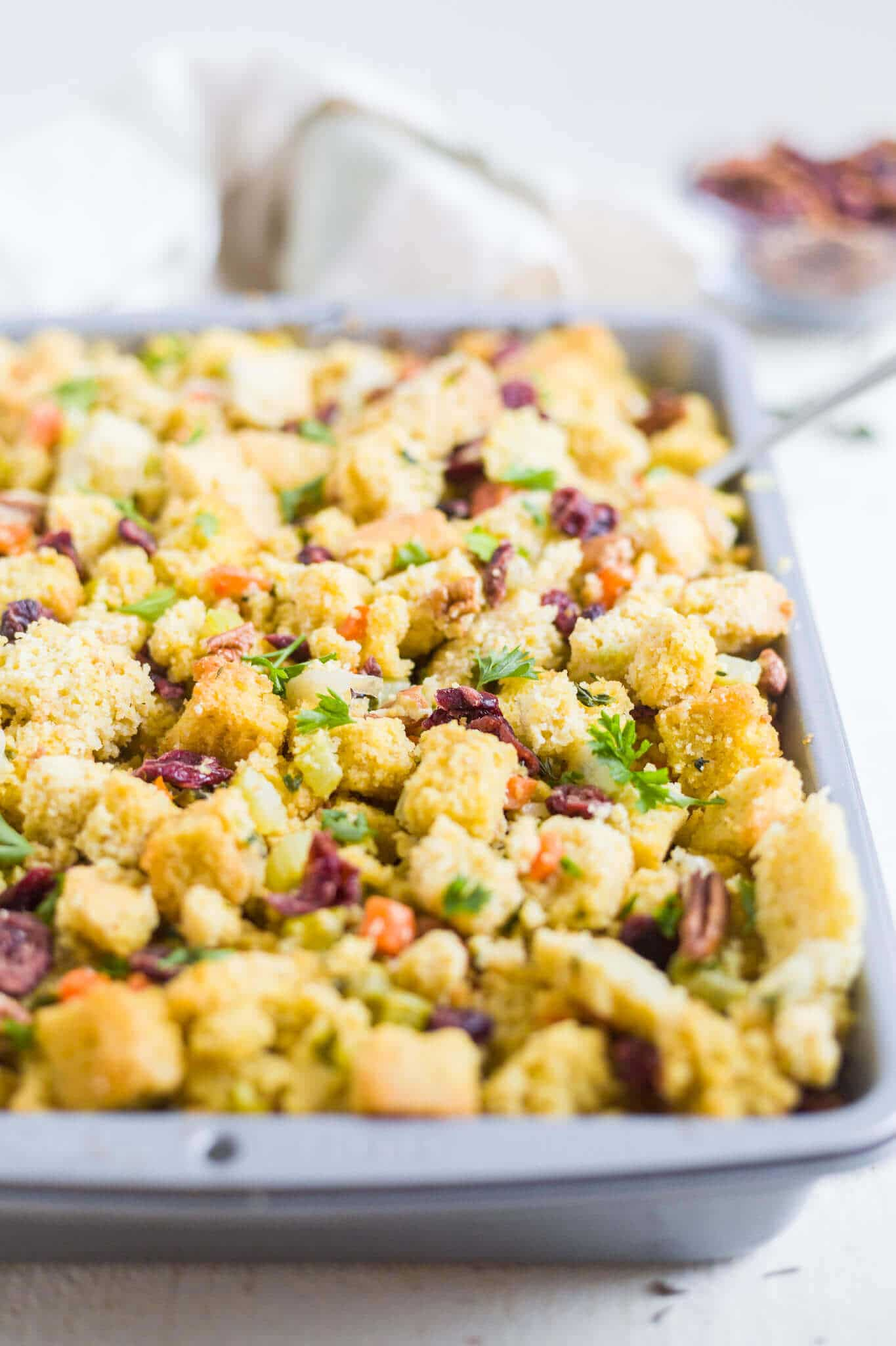 gluten free stuffing with cornbread