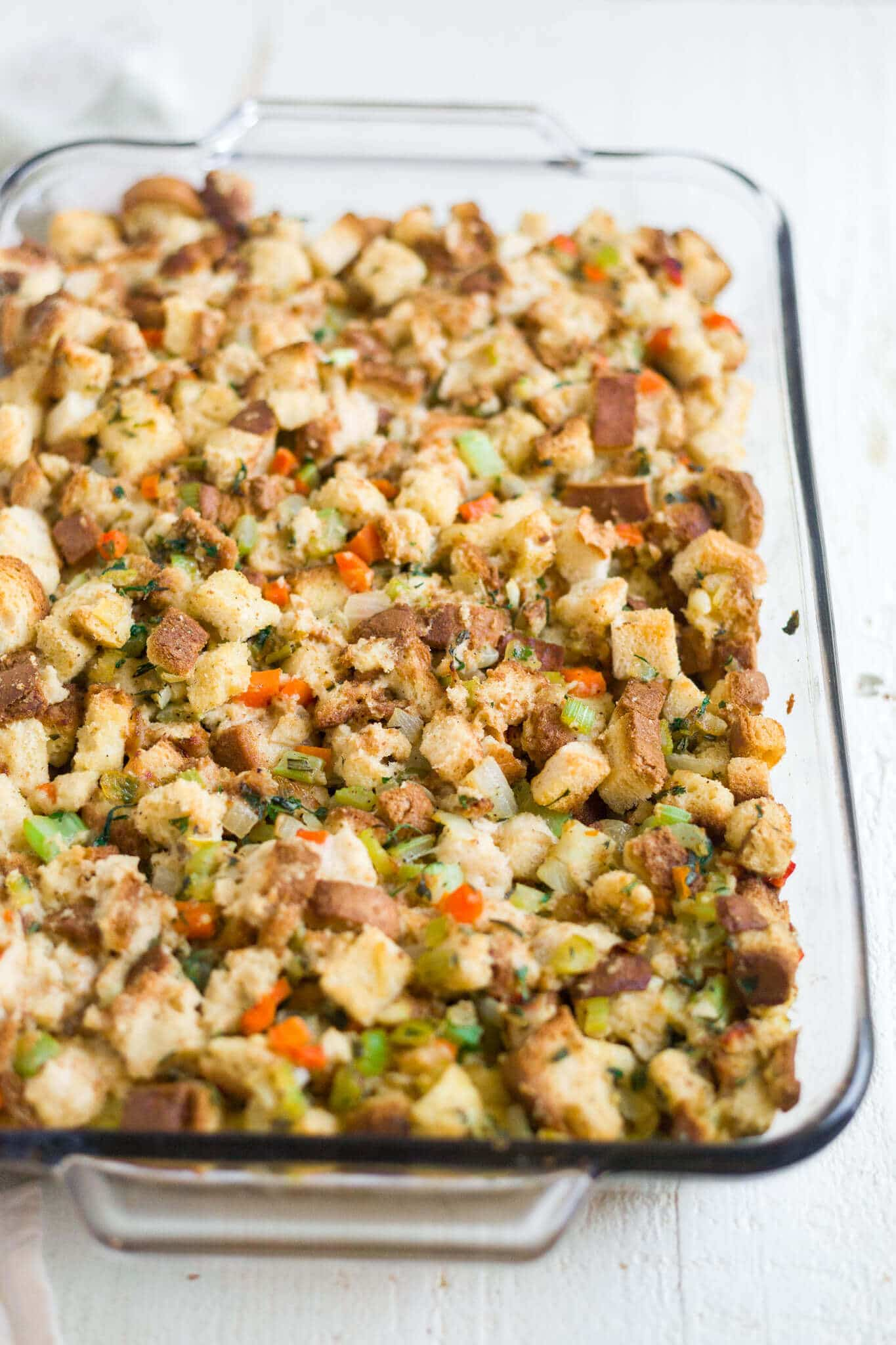 homemade gluten free stuffing