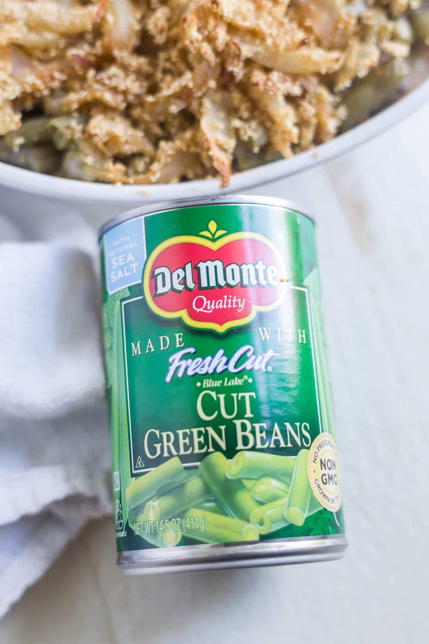 green beans for green bean casserole