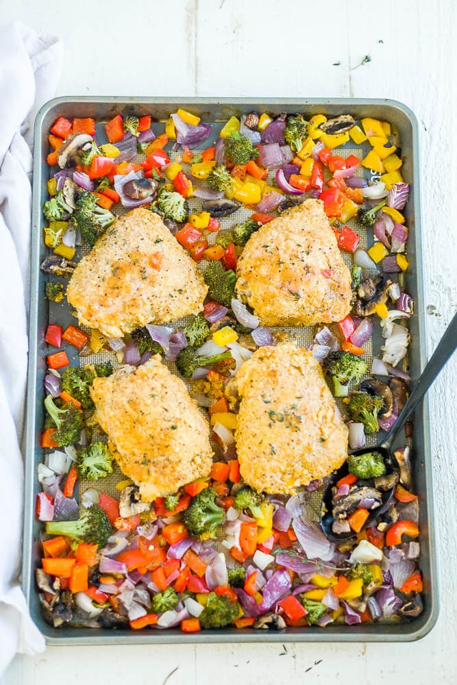 paleo baked chicken thighs