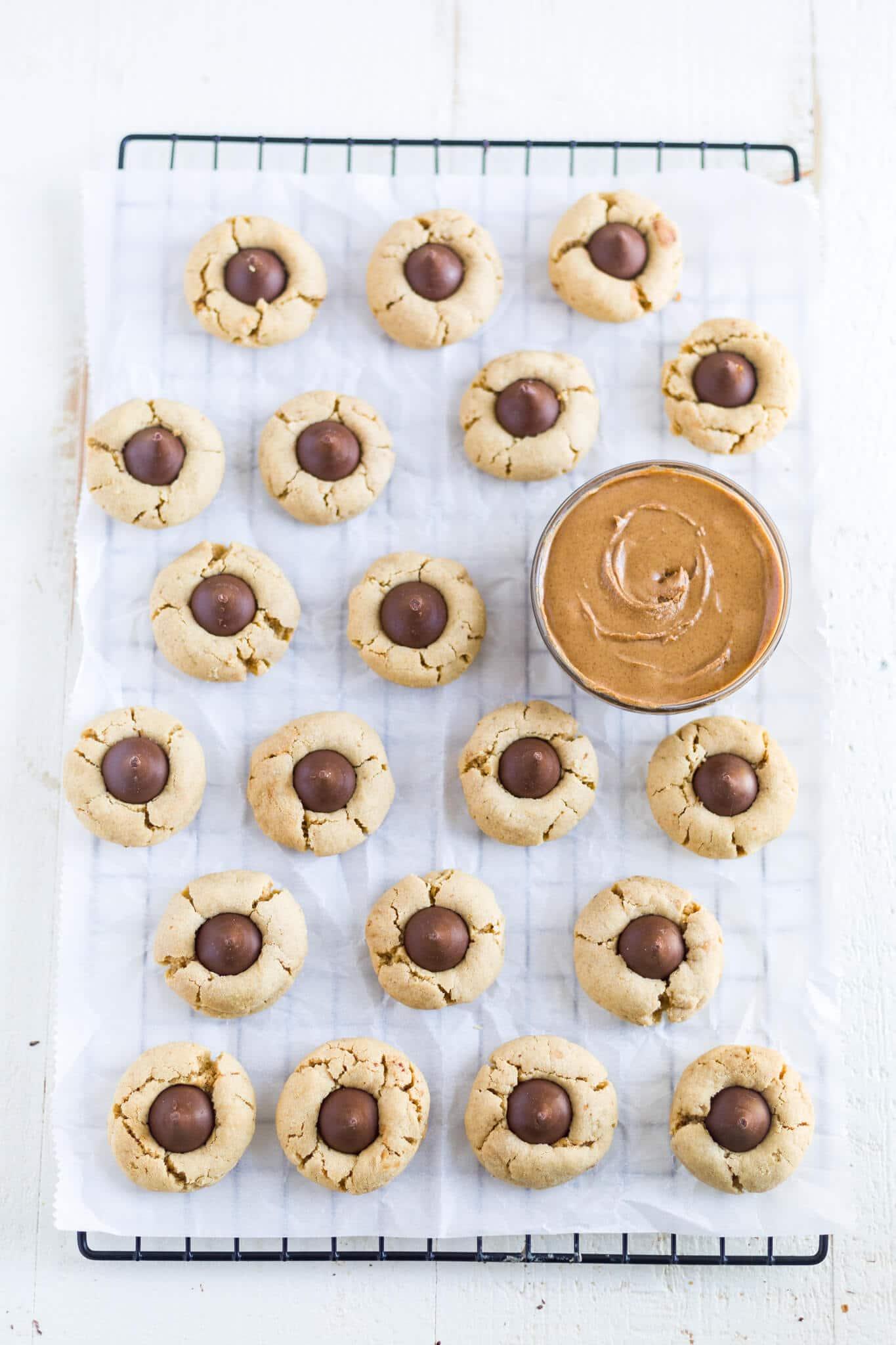 Hershey's gluten free peanut butter blossoms