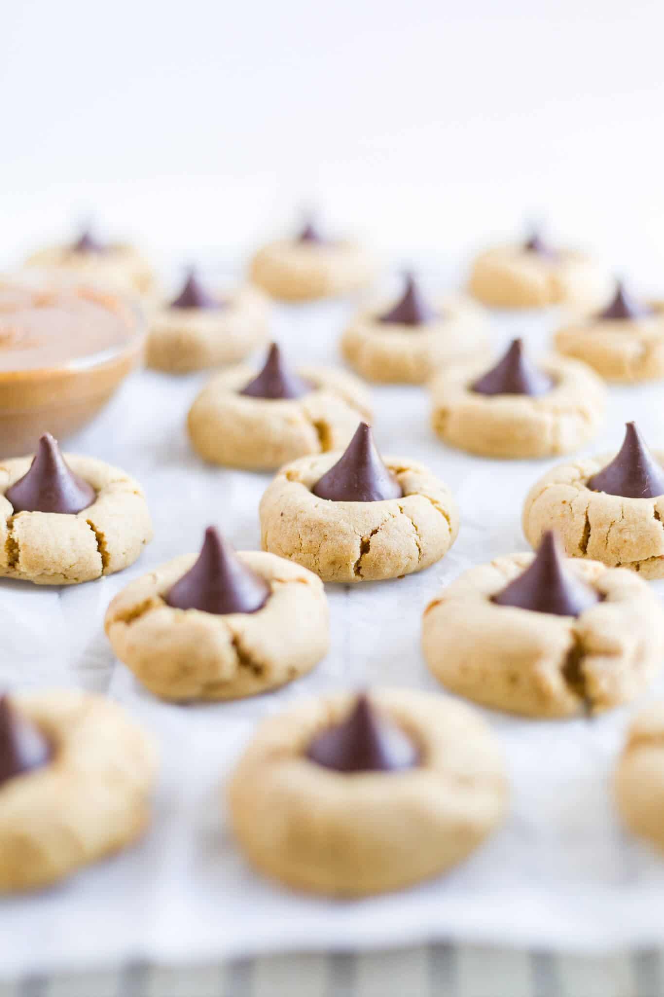 peanut butter blossom cookies gluten free