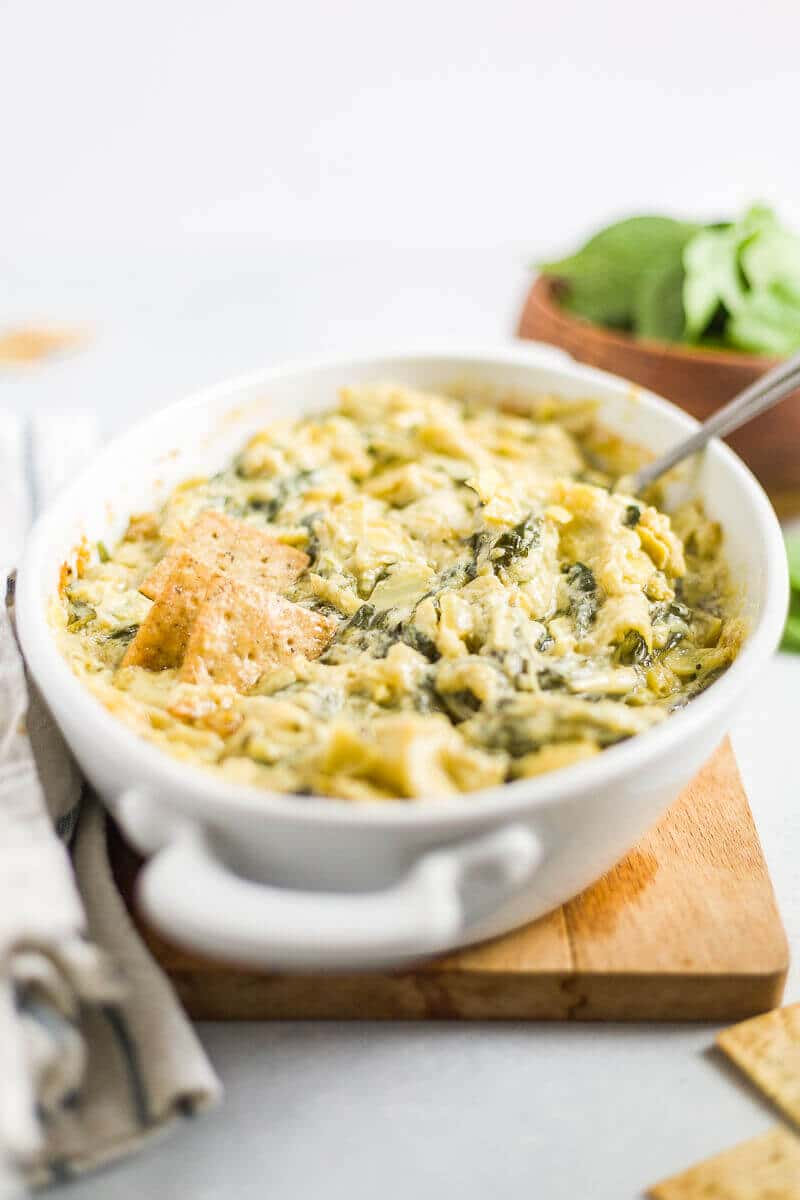 is spinach artichoke dip healthy