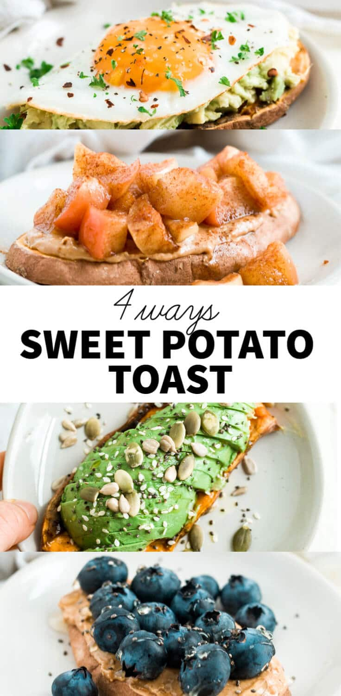 sweet potato toast recipes