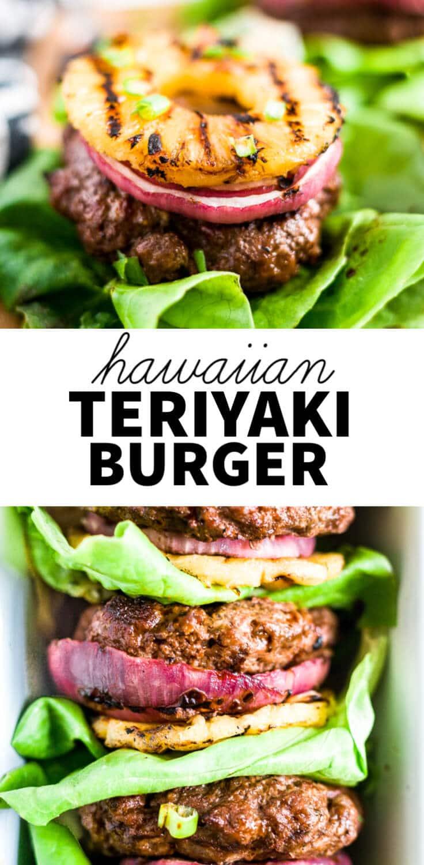 hawaiian burger pin