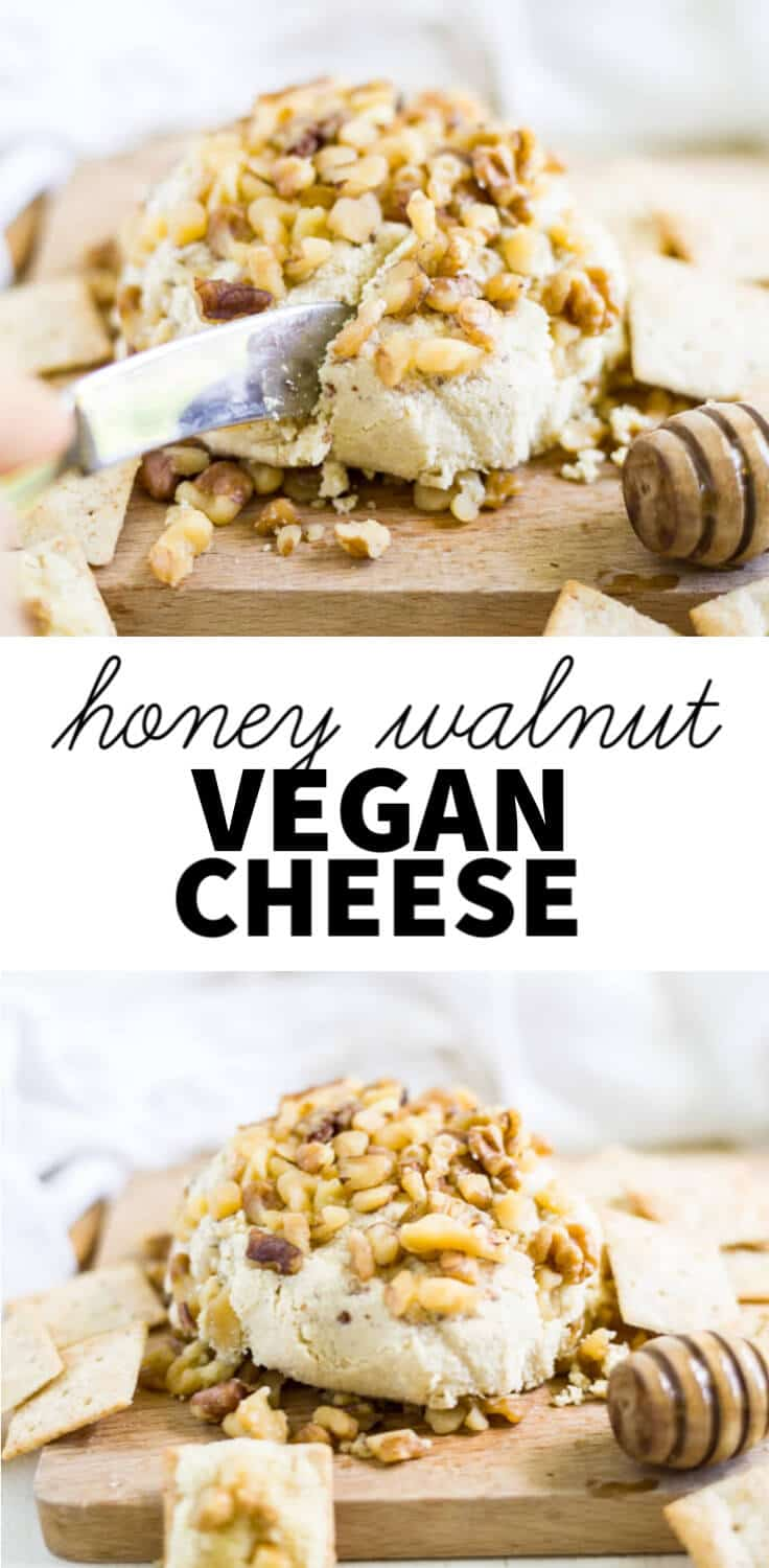 honey walnut vegan cheese spread
