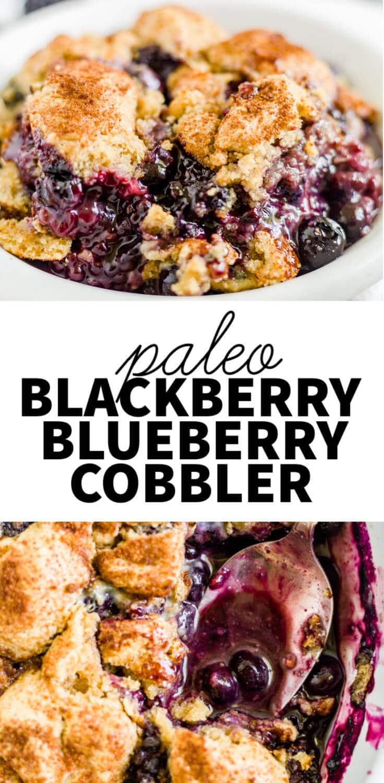 paleo berry cobbler
