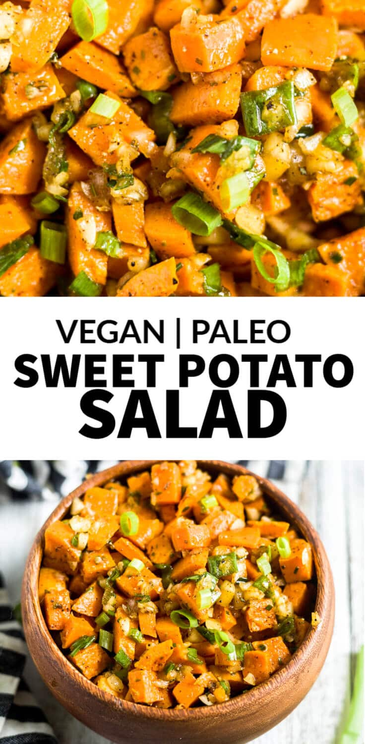 sweet potato salad no mayo