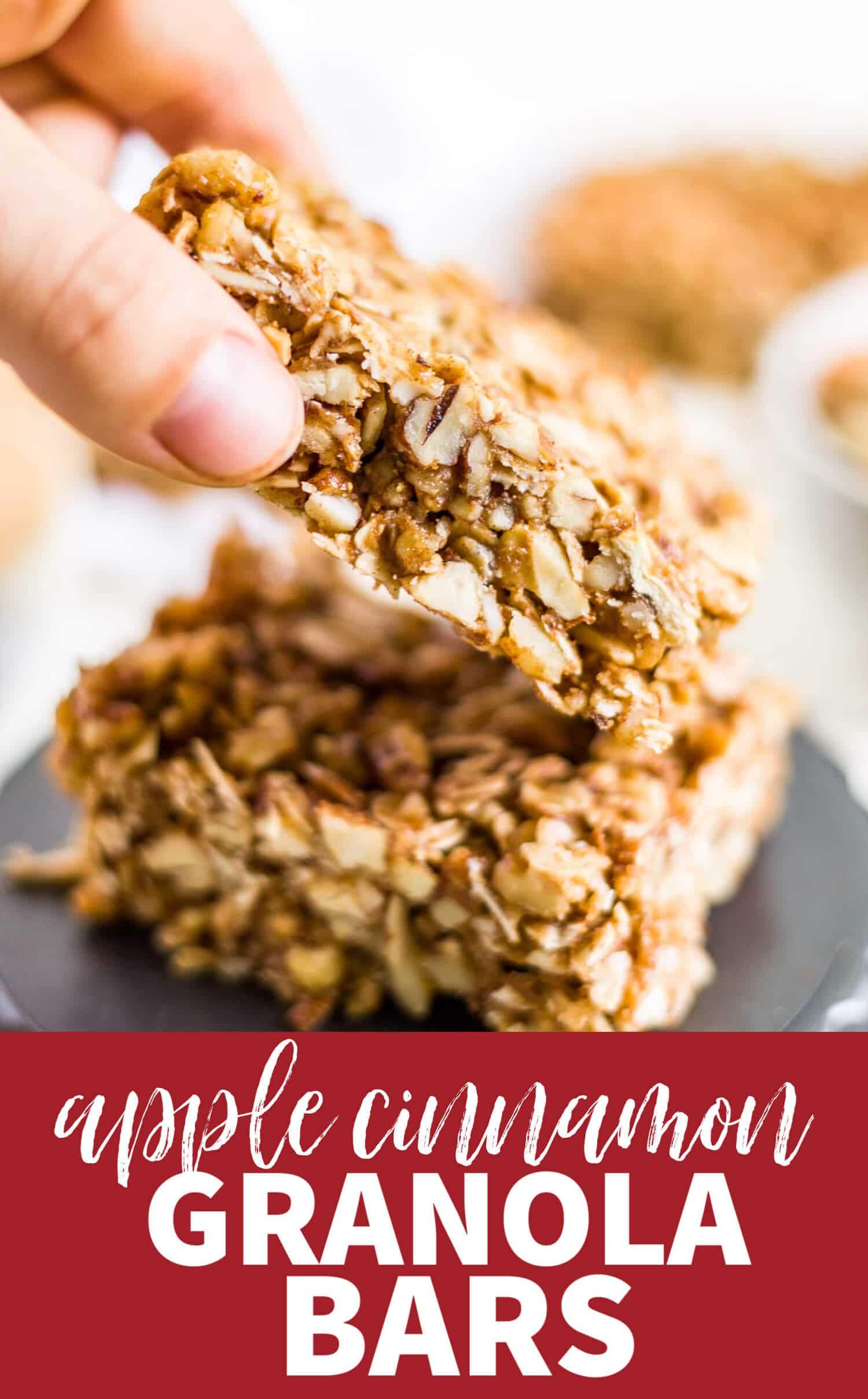 homemade granola bars healthy