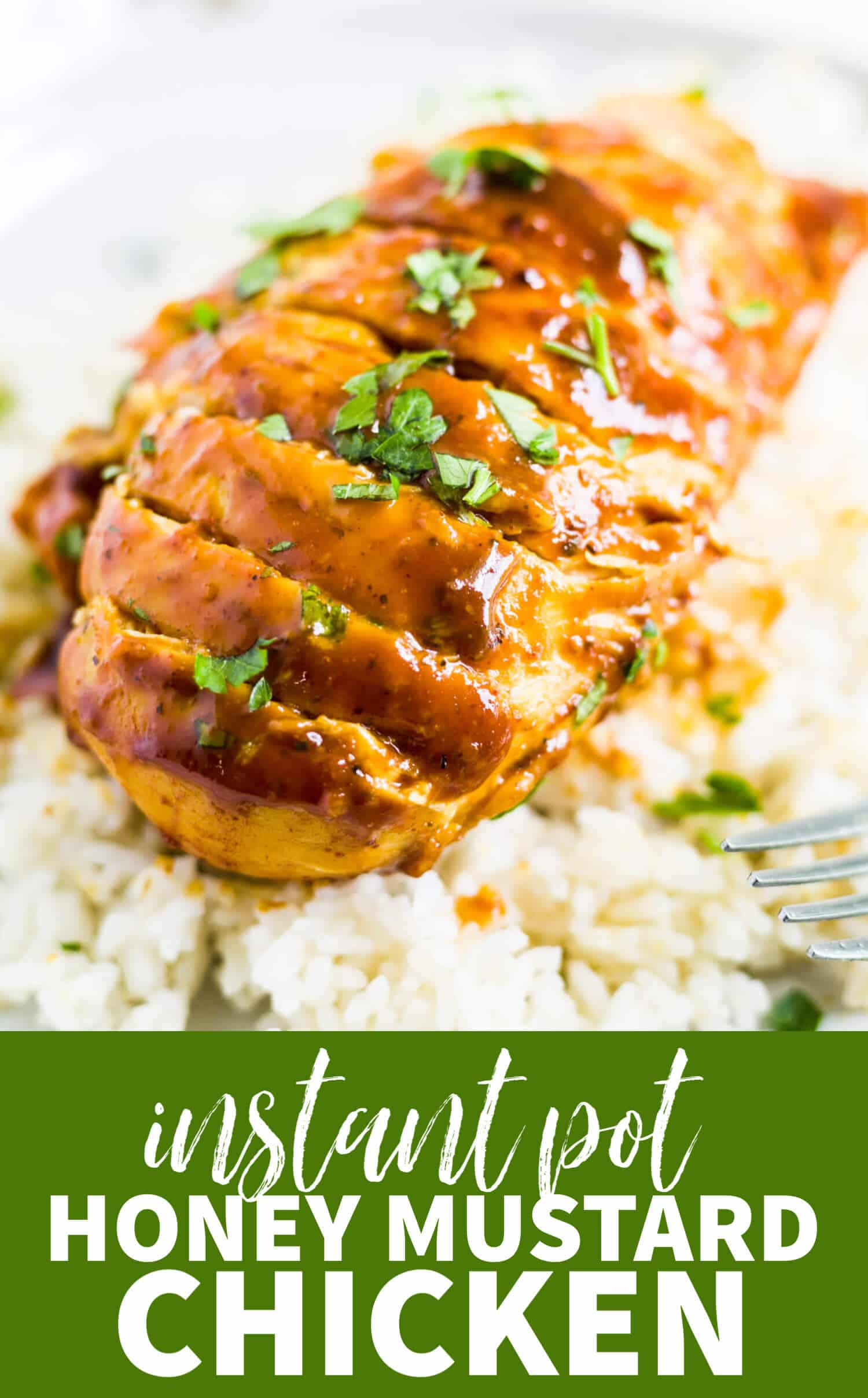 instant pot honey mustard chicken recipe