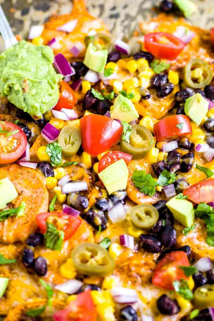 recipe for sweet potato nachos
